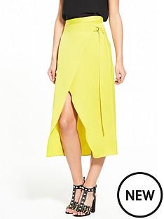 river-island-yellow-wrap-skirt