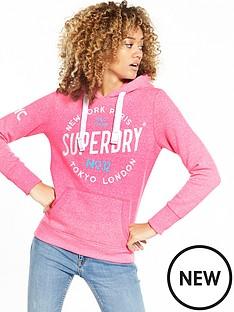 superdry-city-of-dreams-hoodie-fluoro-pink