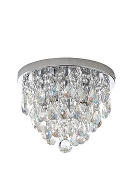Luxe Collection Luxe Collection Charlotte Luxury Flush Ceiling Pendant Picture