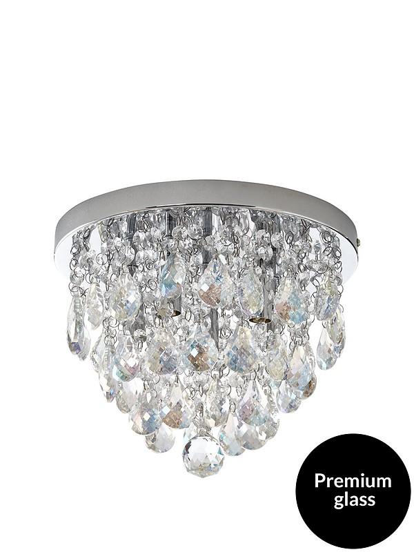 Charlotte Luxury Flush Ceiling Pendant