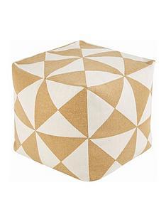 ideal-home-printed-cotton-bean-cube
