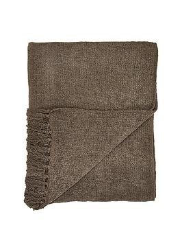 KAIKOO Kaikoo Chenille Throw Picture