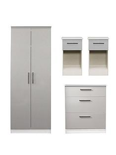 swift-montreal-4-piece-ready-assembled-package-ndash-2-door-wardrobe-3-drawer-chest-and-2-bedside-chests