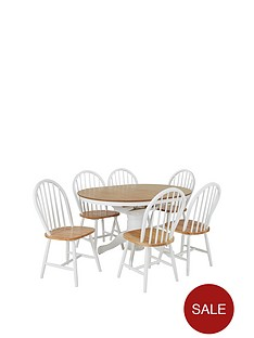 kentucky-100-130-cm-extending-round-dining-table-4-chairs