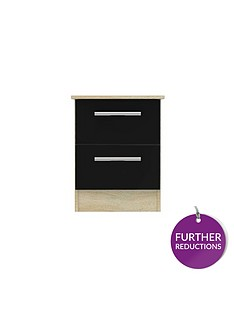 swift-montreal-gloss-ready-assembled-2-drawer-bedside-chest