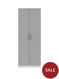 swift-montreal-gloss-ready-assembled-tall-2-door-wardrobe