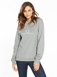 fred-perry-embroidered-sweatshirt