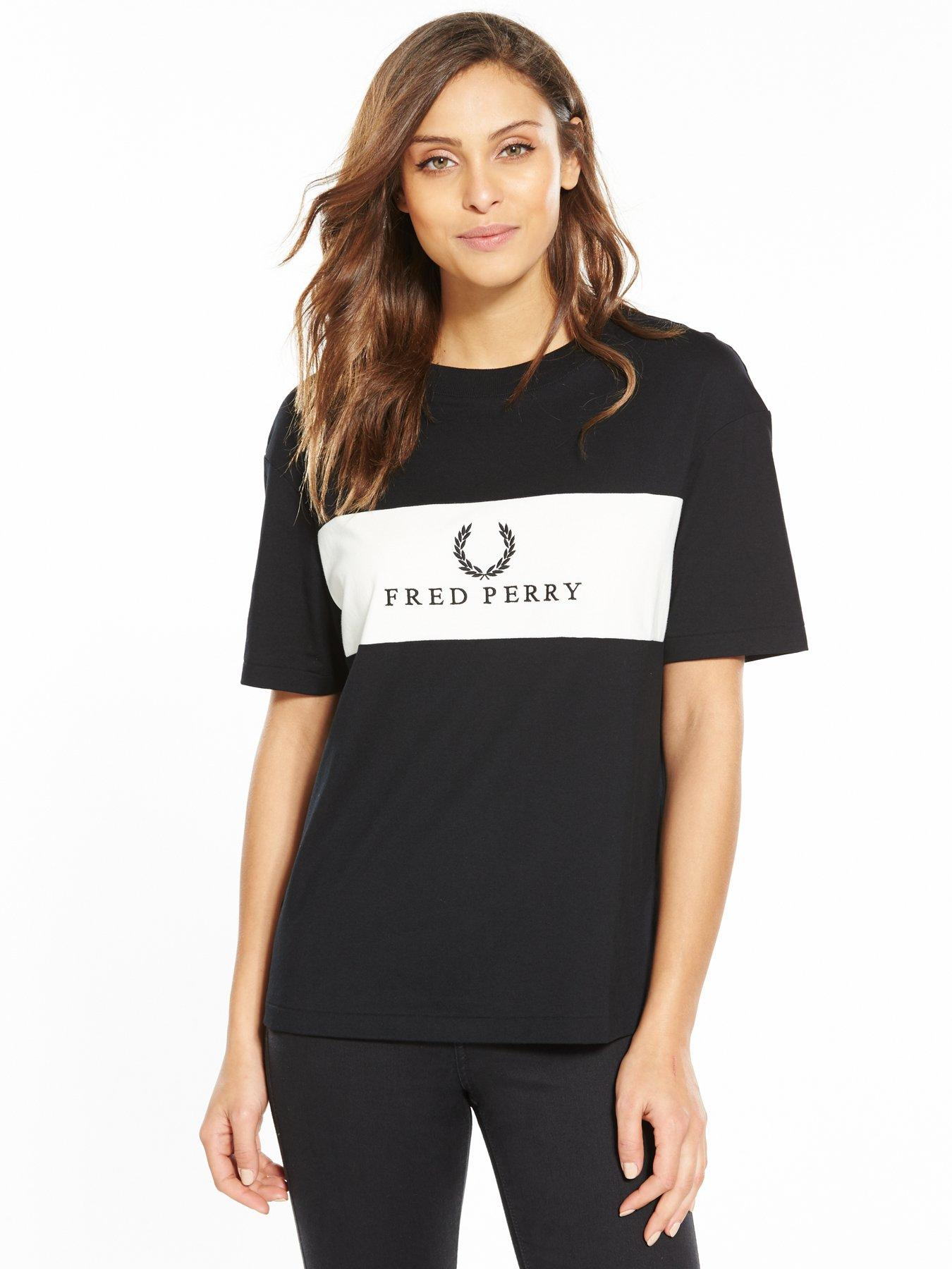 fred perry t shirt women