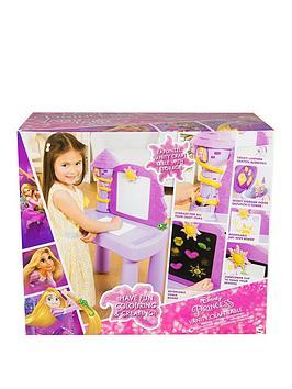 Disney Princess Disney Princess Rapunzel Vanity Craft Desk Picture
