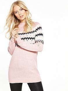 v-by-very-embellished-fairisle-jumper