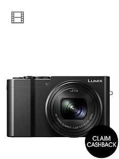 panasonic-lumix-dmc-tz100-digital-camera-wi-fi-3-inch-lcd-touch-screen-with-pound50-cashback-black-with-optional-accessory-kitnbsp
