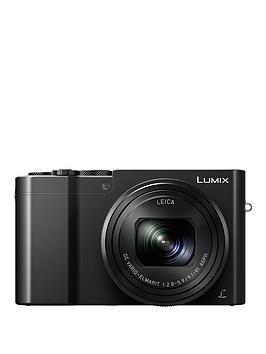 Panasonic Lumix DmcTz100 Digital Camera WiFi 3 Inch Lcd Touch Screen  Black With Optional Accessory Kit