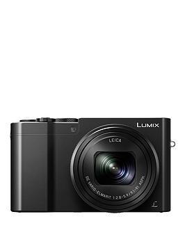 Panasonic Panasonic Dmc-Tz100Ebk Lumix 10X Digital Travel Camera - Black Picture