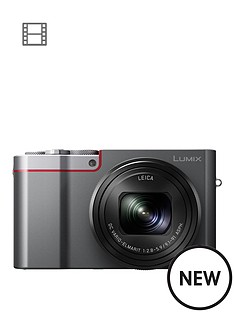 panasonic-lumix-dmc-tz100-digital-camera-wifi-3-inch-lcd-touch-screen-with-optional-accessory-kit-andnbsppound50-cashbacknbsp--silvernbsp