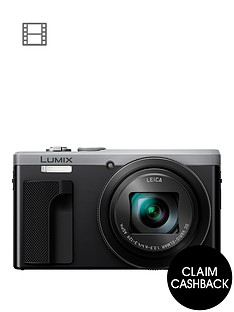 panasonic-lumix-tz80-super-zoom-digital-camera-3-inch-lcd-touch-screen-with-optional-accessory-kit-silvernbspsave-pound20-with-voucher-code-lxk3t