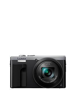 Panasonic Lumix Tz80 Super Zoom Digital Camera 3 Inch Lcd Touch Screen  Silver With Optional Accessory Kit