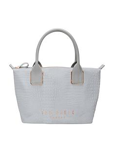 ted-baker-medium-crock-embossed-weekender