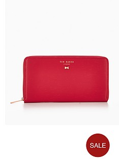 ted-baker-signature-bow-zip-around-purse