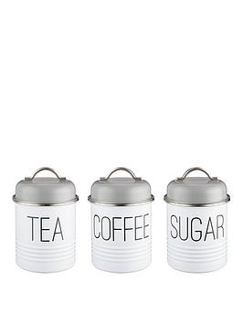 Typhoon Tea, Coffee and Sugar Canisters | littlewoods.com