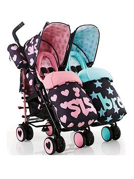 Cosatto Cosatto Supa Dupa Twin Stroller - Sis &Amp; Bro Picture