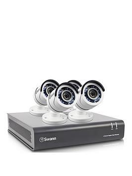 Swann 4 Channel 4 Camera 1080P Cctv Kit