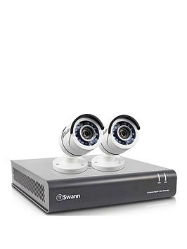 Swann 4 Channel 2 Camera 1080P Cctv Kit