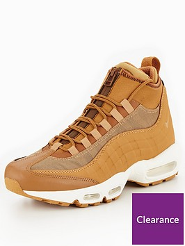 c0370e2a165fa Nike Air Max 95 SneakerBoot - Brown | littlewoods.com