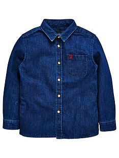 farah-holmbrook-denim-long-sleeve-shirt