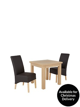 square-to-rectangle-80-160-cm-extending-dining-table-2-eternity-chairs