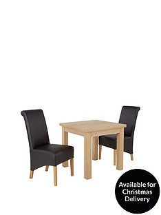 square-to-rectangle-80-160-cm-extending-dining-table-2-sienna-chairs