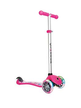 globber-globber-primo-fantasy-lights-scooter-flowers-neon-pink