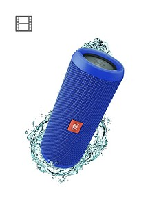 jbl-flip-4-wireless-bluetooth-waterproof-speaker-with-call-handling-and-up-to-12-hours-playtime-blue