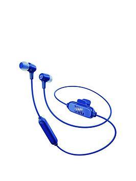 Jbl E25 Wireless Bluetooth InEar Headphones  Blue