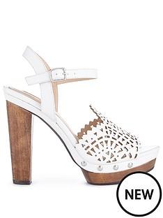 miss-selfridge-white-backless-laser-wood-platform