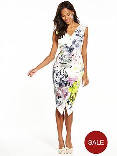 coast-mirabeaunbspprinted-scuba-shift-dress
