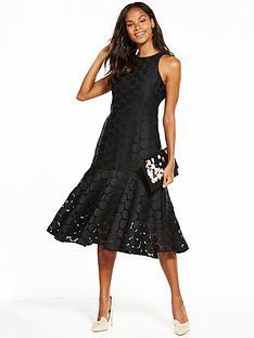 coast-chelsea-lace-peplum-dress-black