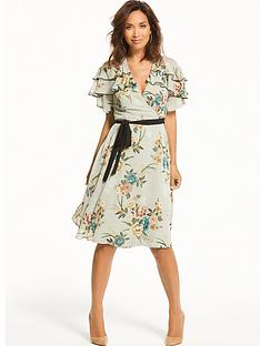 myleene-klass-contrast-tie-tea-dress