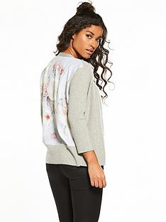 ted-baker-woven-back-cardigan-light-grey