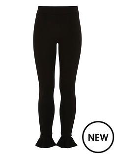 river-island-girls-black-frill-hem-leggings