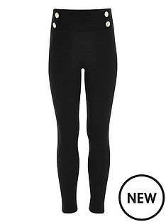 river-island-girls-black-ponte-military-leggings