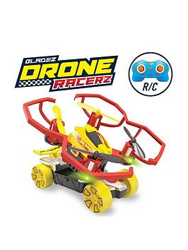 Hot Wheels Hot Wheels Rc Bladez Drone Racerz Drone &Amp; Vehicle Set Picture