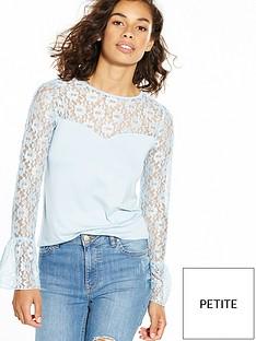 v-by-very-petite-long-sleeve-lace-yoke-jersey-top