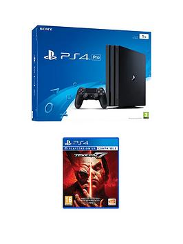 Playstation 4 Playstation 4 Pro Console With Tekken 7 With Plus Optional Extra Controller AndOr 12 Months Playstation Network  Ps4 Pro Console With Tekken 7 And 365 Psn Subscription