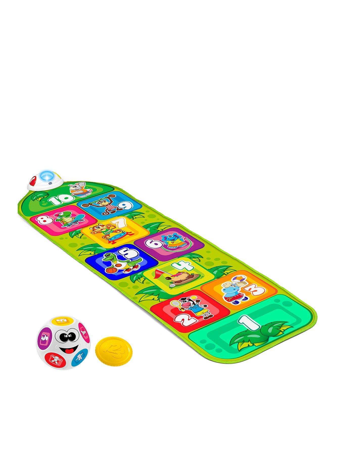 Compare prices for Chicco Jump and Fit Playmat Hopscotch