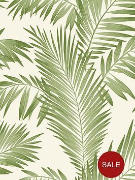 arthouse-tropical-palm-wallpaper-ndash-green