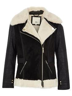 river-island-girls-black-faux-fur-collar-aviator-jacket