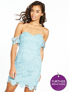 v-by-very-petite-bardot-lace-dress