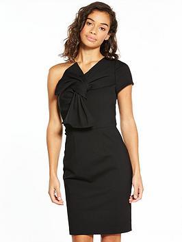 v-by-very-petite-petite-one-shoulder-bow-dress