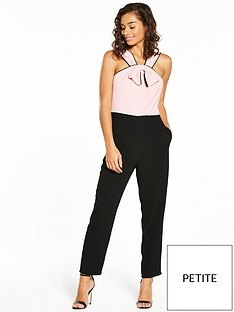 v-by-very-petite-petite-bow-front-jumpsuit