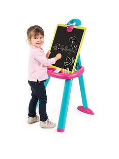 smoby-pink-plastic-board-easel